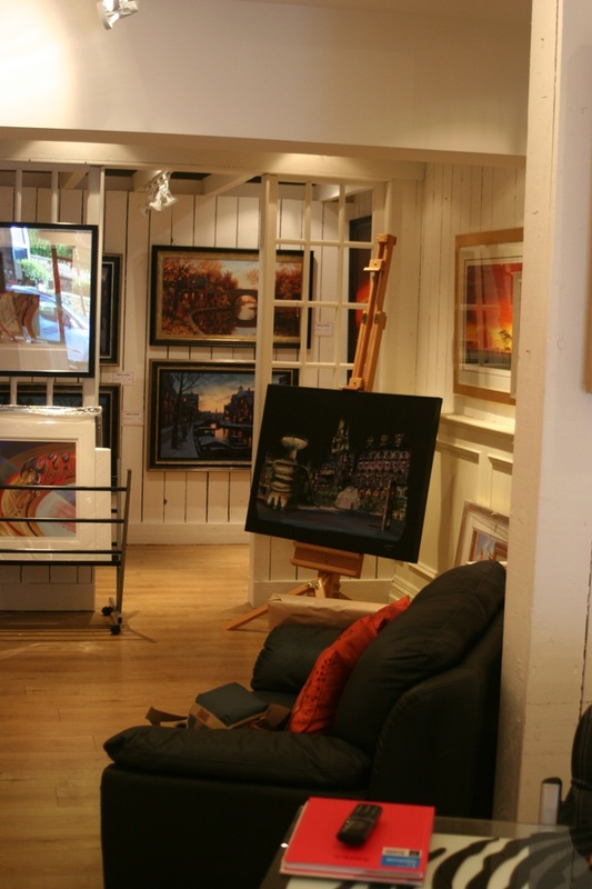 Andrew Roy Thackeray Representing Sheffield Artists At The Blighty Gallery